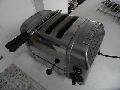 Dualit 2 + 1 Combi  3 Slice Toaster Polished