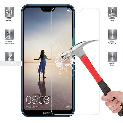 Real Tempered Glass Film Screen Protector For Huawei P20 Lite Mobile Phone
