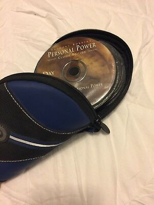 Anthony Tony Robbins CD DVD  Get The Edge + Personal Power Classic Edition
