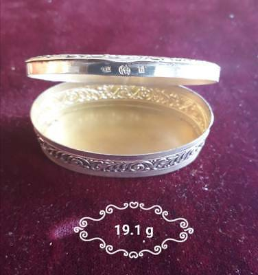 Vintage Antique Very old Silver Box