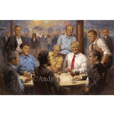 """""""The Republican Club"""" By Andy Thomas - A gathering of your favorite GOP Leaders"""