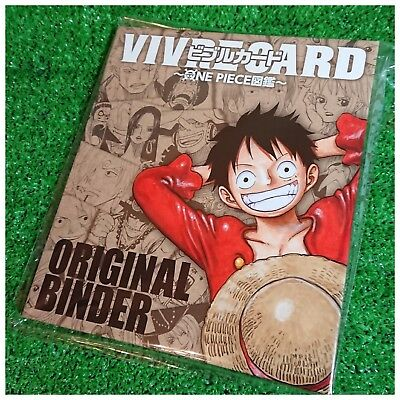One Piece Character Book VIVRE CARD Original Binder (Limited ver.) + Bonus Card