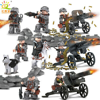 Toy Soldiers Mini Army Germany World War II Death Squad Gift Set Mini Figures