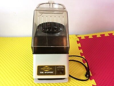 Vintage West Bend The Poppery 5459 Electric 1500 W Popcorn Popper Bean Roaster