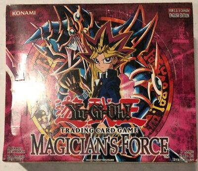 Yugioh Magician's Force Unl Edition 24-count Booster Box Card Game