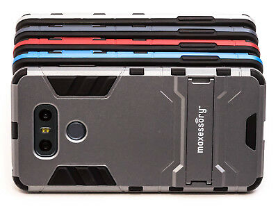 LG G6 Case, Protective Ultra-Thin Lightweight Rugged Tough Armor Stand Case
