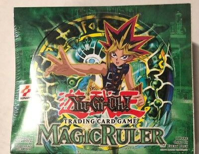Yugioh Magic Ruler Unlimited  Edition 36-count Booster Box Card Game TCG CCG