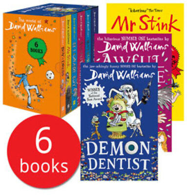 The World of David Walliams Box Set Collection - 6 Books