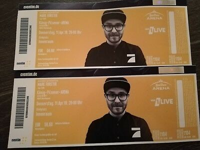Tickets Konzert Mark Forster Tour 2019
