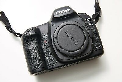 Canon EOS 5D Mark II 21.1MP Digital SLR Camera - Body, Grip, Battery + Charger