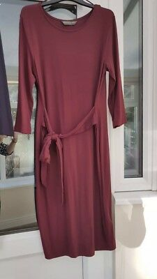 Blooming Marvellous Size 16 Burgundy Christmas Winter Dress