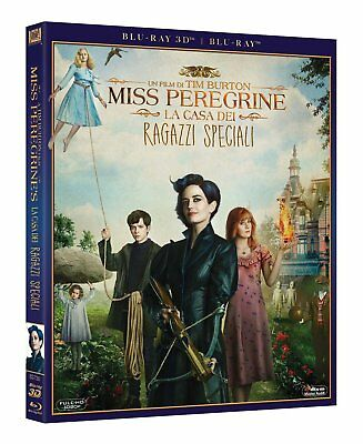 Miss Peregrines Home for Peculiar Children - 3D & 2D - Blu Ray - Limited Edition