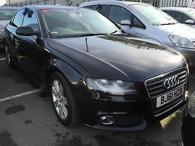 61 Audi A4 2.0 Tdi 136 Technik S/s With Leather & Colour Sat Nav, 1 F/owner