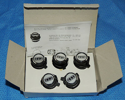 Lot 5 New Bourns CT-23-6A Potentiometer Turns Counting Dial 10 Turns 3-Digit
