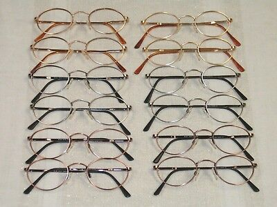 100 Randolph Engineering RX MODEL 801 Oval Eyeglass Frames Various sizes +colors