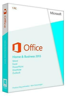 Microsoft Office Home and Business 2013 - Lizenz - 1 PC   PC   Neu New