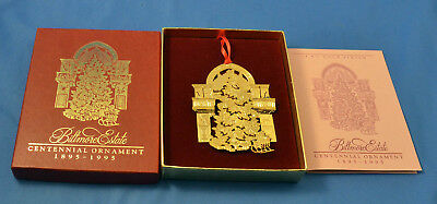 1995 Biltmore Estates Centennial Christmas Ornament