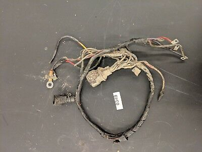 GOOD! 1986 90 HP Johnson Evinrude outboard wiring harness ... on johnson outboard manual, johnson outboard shifter, johnson outboard throttle cable, johnson outboard starter, johnson outboard fuel hose, johnson outboard engine paint, johnson outboard ignition coil, johnson outboard fuel lines, johnson outboard fuel pump kit, johnson outboard wiring diagram, johnson outboard wiring coil, johnson v4 90 hp outboard, johnson outboard mounting bracket, johnson outboard gauges, johnson outboard carburetor, johnson outboard rectifier, johnson outboard tach wiring, johnson outboard stator, johnson outboard fuel filter, johnson outboard control box,
