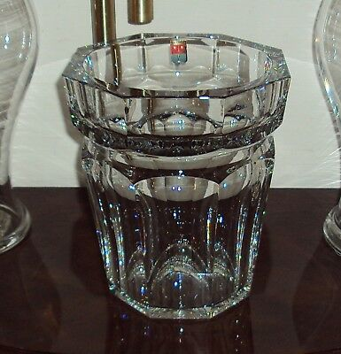 Baccarat French Crystal Harcourt Large Ice Champagne Bucket /France $2800 Nw