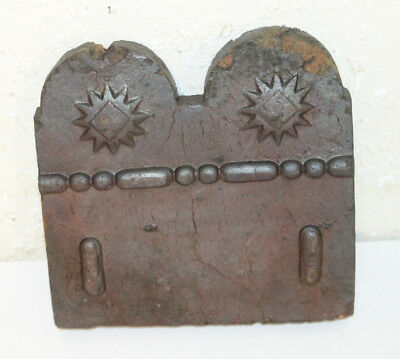 Antique Garden Terra Cotta  Border Tile 19th c Handmade Georgia Slave Tile ..