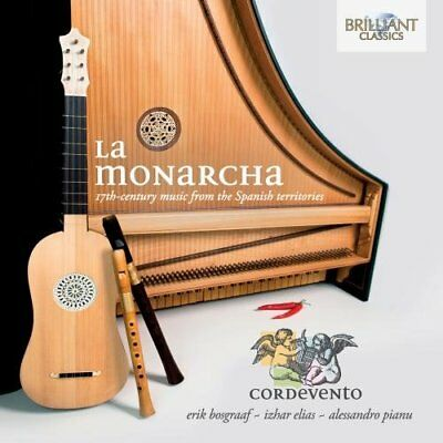 Cordevento - La Monarcha 17th Centmusic from Spain [CD]