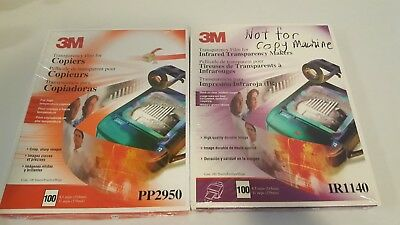 3m Transparency IR1140 for Infrared Transparency Makers And PP2950 for Copiers