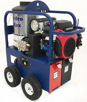 Hot/Cold Water Pressure Washer 5gpm/4000psi-new- Belt Diven