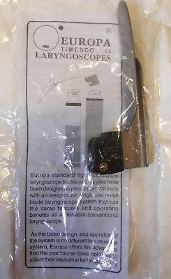 Europa (Orion Compatible) Laryngoscope Blade. Ambulance EMT Paramedic Equipment.