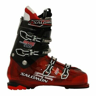 Chaussure de ski Occasion Salomon Rs 100 rouge