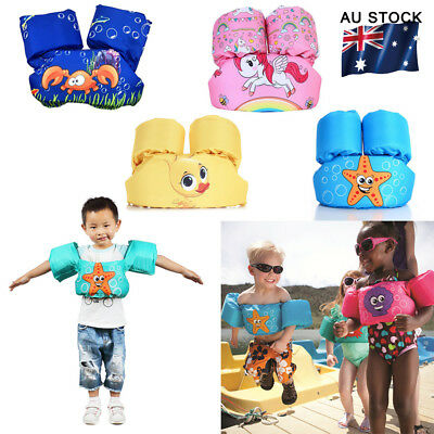 Kids Floaties 2-6 Years Pool Floats Vest Arm Brand Inflatable Ring Learn to Swim