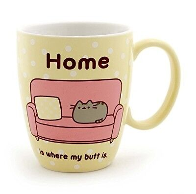 """Pusheen at Home"" Stoneware Coffee Mug, 12 oz. …"