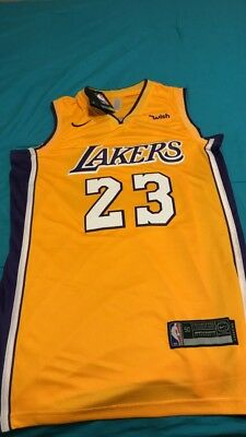 016f7e001d8 LeBron James  23 Lakers Men s Jersey -Size L-TAGS FROM NBA LA stiched