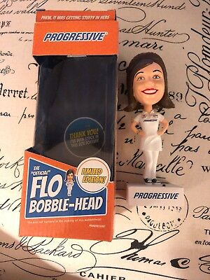 Flo Bobblehead Progressive Insurance With Package