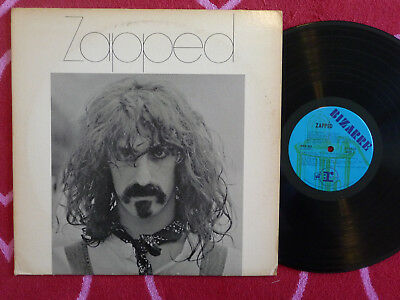 Various ZAPPED LP PROMO Bizarre/Straight Loss Leaders 1970 Linton Zappa Cover
