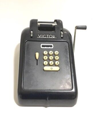 "Elgin Typewriter Co. Key ""VICTOR""Typewriter  Calculator Machine *UNTESTED *READ*"