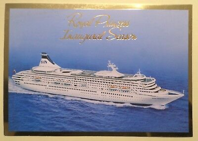 ms Royal Princess . Cruises Inaugural Season Ship Love Boat Ocean Liner Voyage