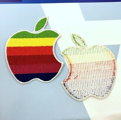 Patch Apple Computer Logo Patch  2 3/4 Inch