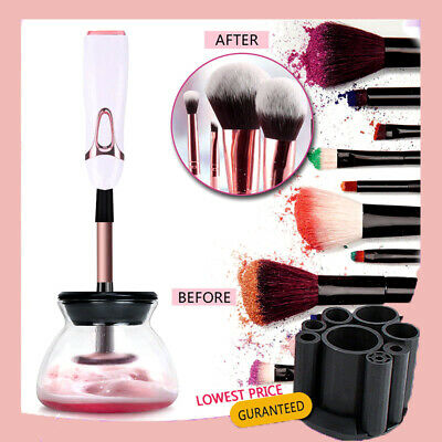 2019 Electric Makeup Brush Cleaner And Dryer Set Includes Brush Collar Stand Kit