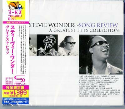 STEVIE WONDER-SONG REVIEW A GREATEST HITS COLLECTION-JAPAN SHM-CD Ltd/Ed C65