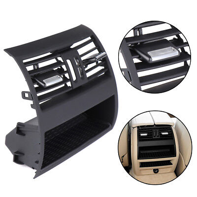Black Rear Center Console Fresh Air Outlet Vent Grille Grill Cover for BMW 5 F10
