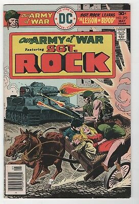 Our Army At War #292 In Very Fine+ Condition (May, 1976, DC)