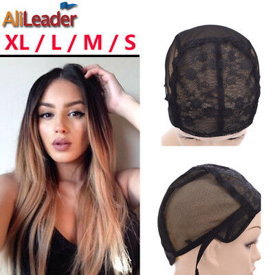 Best Wig Cap For Making Wigs With Adjustable Strap Lace Wig Weaving CapsS M L XL