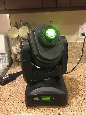 Chauvet Q Spot 160 LED Club Stage DJ DMX Gobo Moving Head Light Fixture
