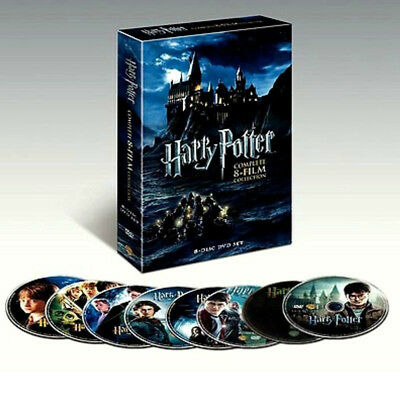 Harry Potter: Complete 8-Film Collection DVD, 2011, 8-Disc Set New & Sealed