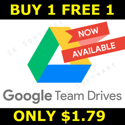 ☑️ Unlimited Google Drive On Existing Acc Lifetime Not Edu - Buy 1 Free 1