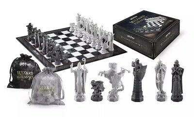 🔥 Harry Potter Wizard Chess Set Final Challenge The Noble Collection New!