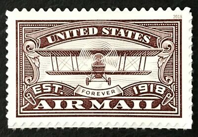 2018 Scott #5282 - Forever - AIR MAIL NEW RED STAMP - Single Mint NH