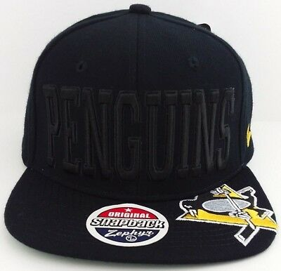 Pittsburgh Penguins NHL Snap-back/hat/cap/hockey/Classic