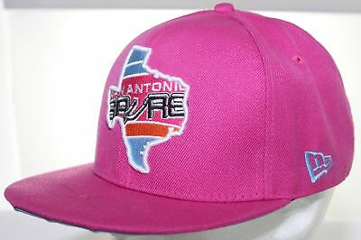 39efc0c5d3b San Antonio Spurs Pink Snapback Cap New Era 9FIFTY NBA HWC Hardwood  Classics Hat