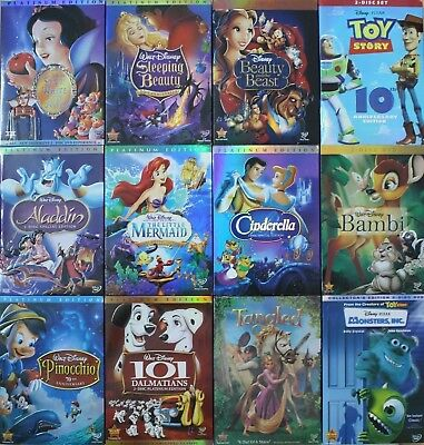Lot of 4 Disney DVDs: Pick and choose